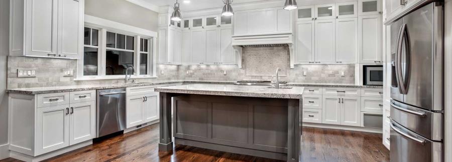 White Granite Countertops Chicago
